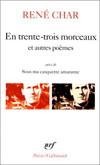 EN TRENTE-TROIS MORCEAUX / SUR LA POESIE /LE BATON DE ROSIER /LOI